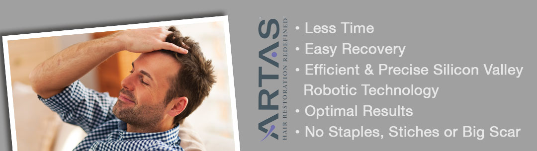 artas hair restoration redefined